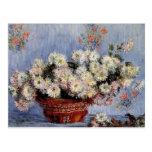 Crisantemos - Claude Monet Postal