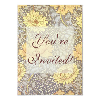 Crisantemos del papel pintado floral del vintage comunicados personales