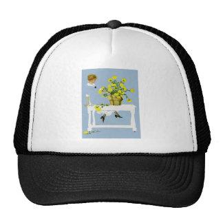 Crisantemos Fadeaway de Coles Phillips Gorros