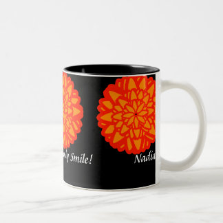 Crisanthemum November's Mug-Customize Two-Tone Coffee Mug