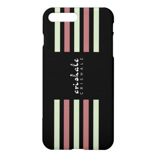 Crishale Two-Color Stripes iPhone 8 Plus/7 Plus Case