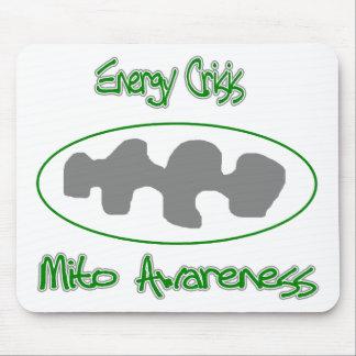 crisis de la energía de la conciencia de Mito Tapetes De Ratón