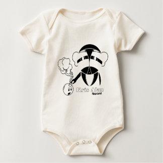Crisis Defused Black Baby Bodysuit