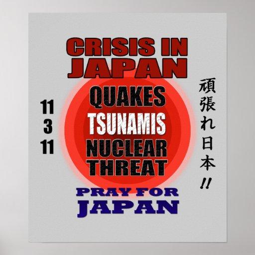 Crisis en Japón 2011 Poster