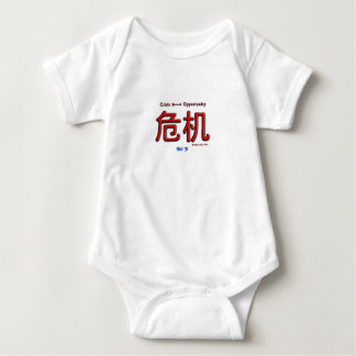Crisis Equals Opportunity Baby Bodysuit