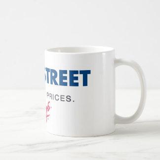 Crisis on wall street coffee mug