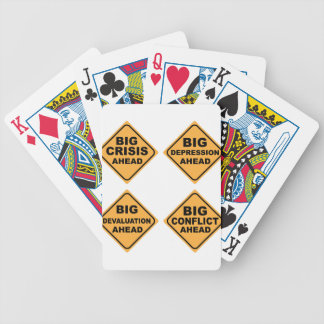 Crisis Signs Bicycle Playing Cards