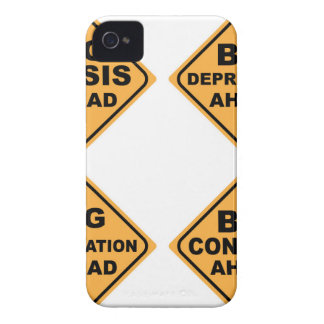 Crisis Signs iPhone 4 Case