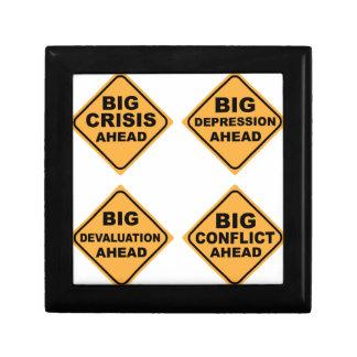 Crisis Signs Keepsake Box