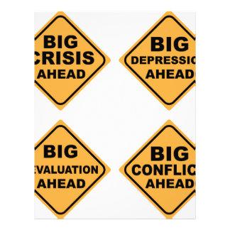 Crisis Signs Letterhead