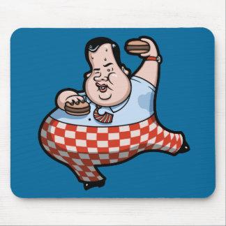 Crisp Chrispy Prez of Burgers Mouse Pad