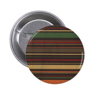 crisp fall air  leaf paper05 STRIPES RICH ORANGES Button