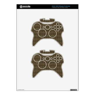 crisp-fall-air-paper-01 COFFEE BROWN STYLISH FALL Xbox 360 Controller Skin
