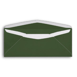 crisp-fall-air-paper-07 RICH DEEP DARK FOREST GREE Envelope