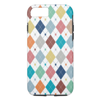 Crisp Modern Argyle iPhone 7 Case
