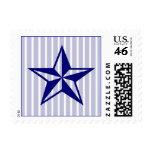 Crisp Nautical Star Postage Stamp