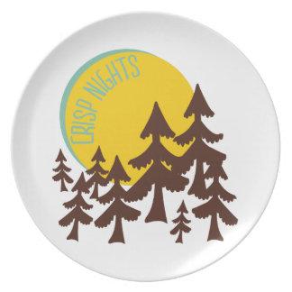 Crisp Nights Plate