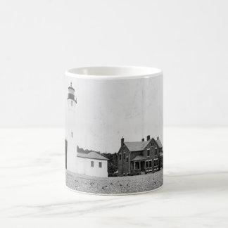 Crisp Point Lighthouse Coffee Mug