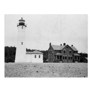 Crisp Point Lighthouse Postcard