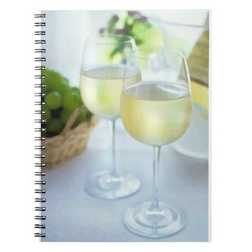 Crisp Whites Notebook