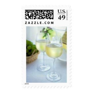 Crisp Whites Postage Stamp