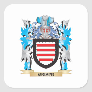 Crispe Coat of Arms - Family Crest Stickers