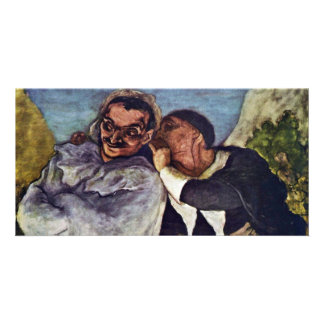 Crispin And Scapin By Daumier Honoré Photo Card