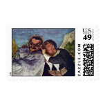 Crispin And Scapin By Daumier Honoré Stamps