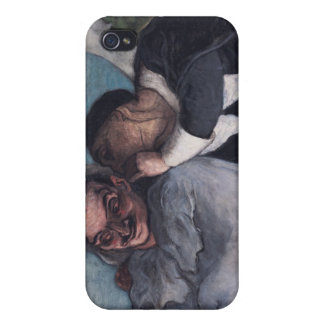 Crispin and Scapin iPhone 4 Cover