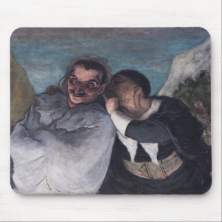 Crispin and Scapin Mouse Pad
