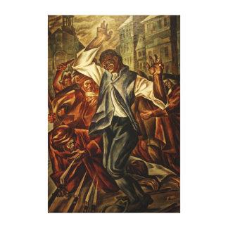 Crispus Attucks de Herschel Levit Impresiones En Lienzo Estiradas