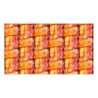 Crispy Bacon Weave Pattern Double-Sided Standard Business Cards (Pack Of 100)