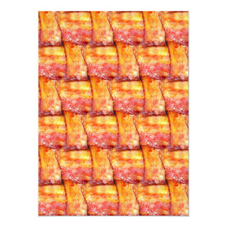 Crispy Bacon Weave Pattern Card