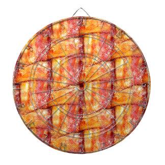Crispy Bacon Weave Pattern Dart Board