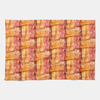 Crispy Bacon Weave Pattern Hand Towel