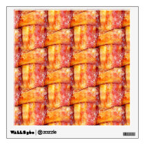 Crispy Bacon Weave Pattern Wall Decal