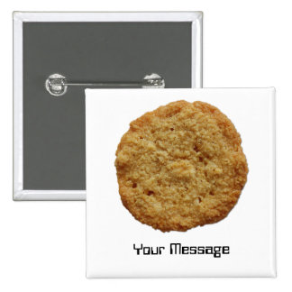 Crispy Baked Cookie Badge Name Tag Button