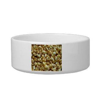 Crispy Candied popcorn Cat Food Bowl