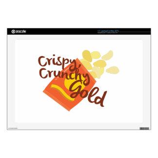 "Crispy Chips 17"" Laptop Decals"