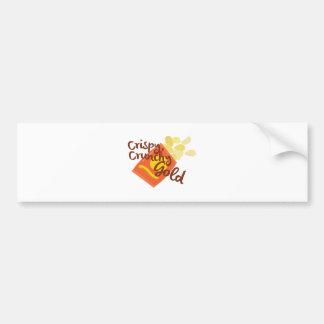 Crispy Chips Bumper Sticker