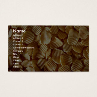 Crispy Chips Business Card