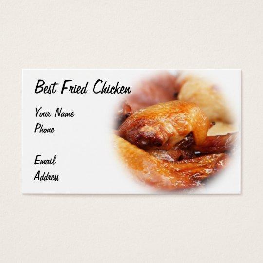 Crispy Fried Chicken Business Card