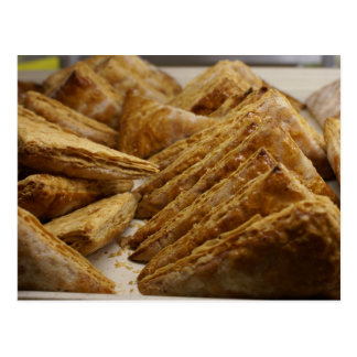 Crispy Pastry Bakery Delight Food Gear Postcard