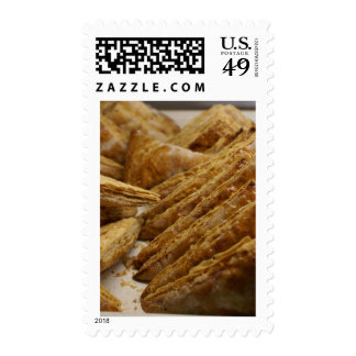 Crispy Pastry Bakery Delight Food Gear Stamp