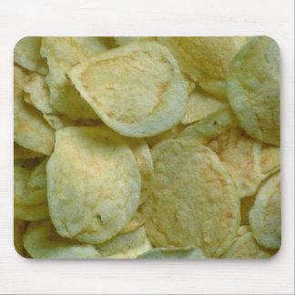 Crispy potato chips mousepads