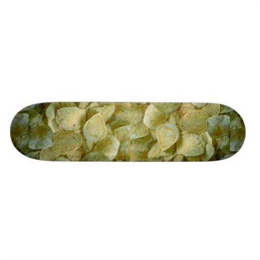 Crispy potato chips skateboard decks