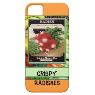 Crispy Radishes iPhone 5 Cases