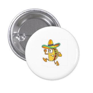 crispy taco pinback button