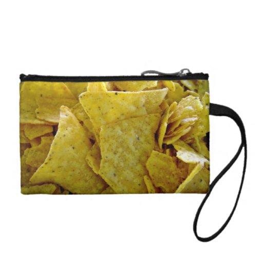 Crispy Yellow Corn Chips Change Purse