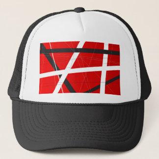 Criss Cross Background Trucker Hat